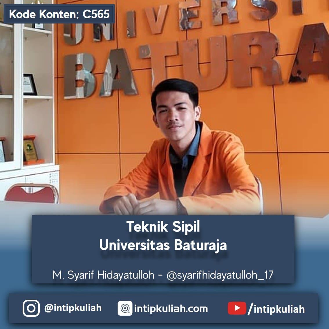 Teknik Sipil Universitas Baturaja (Syarif)