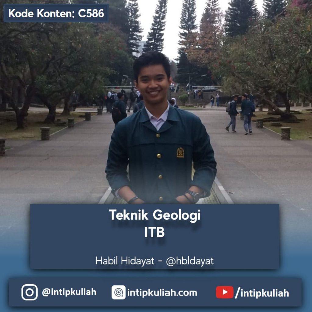 Teknik Geologi ITB (Habil)