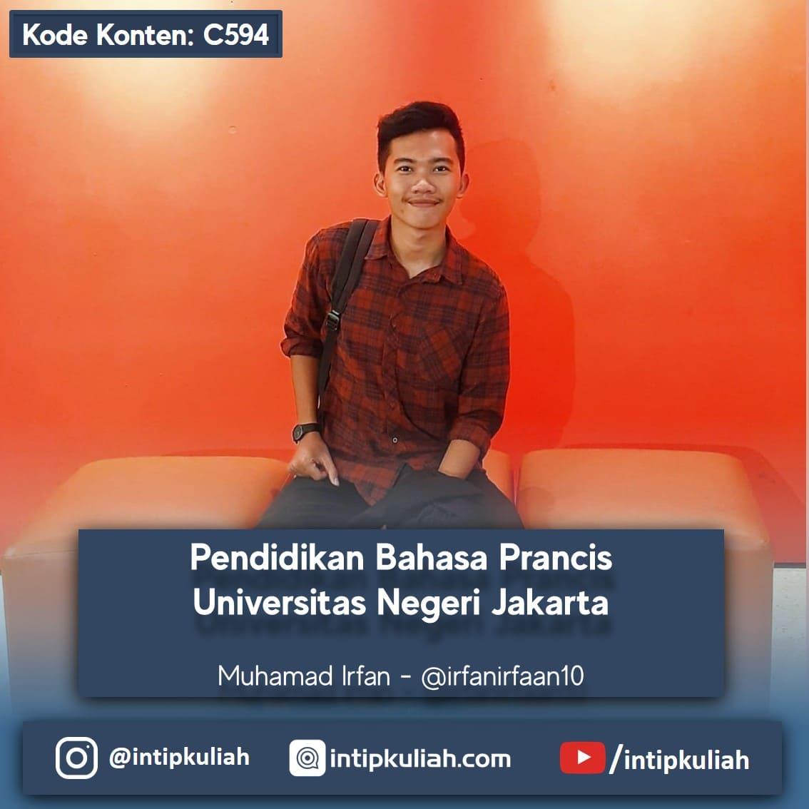 Pendidikan Bahasa Prancis Universitas Negeri Jakarta (Irfan)