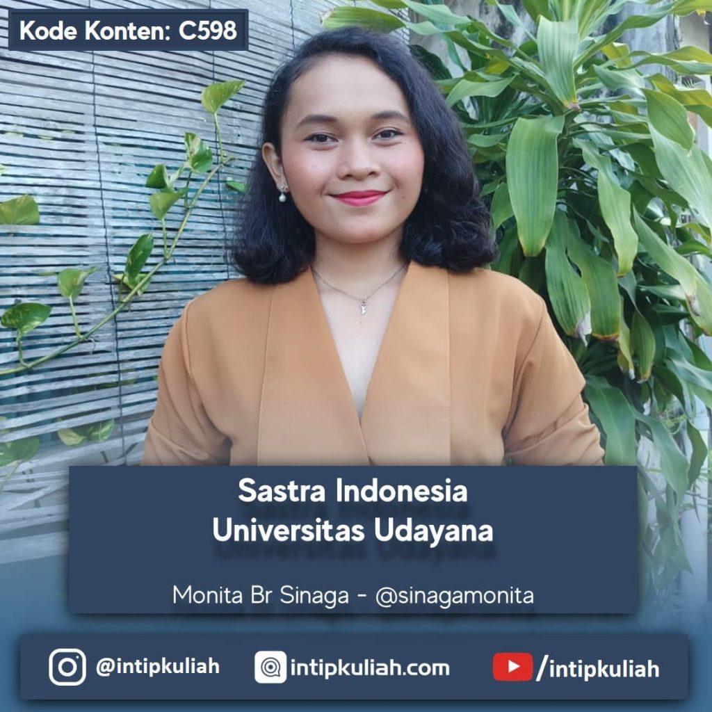 Sastra Indonesia Universitas Udayana (Monita)