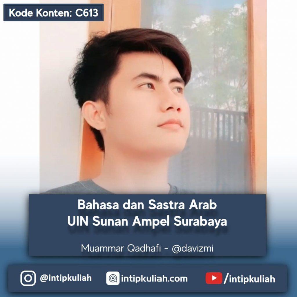 Bahasa dan Sastra Arab UIN Sunan Ampel Surabaya (Muammar)