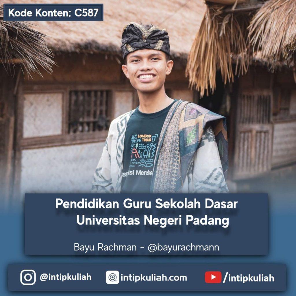 PGSD Universitas Negeri Padang (Bayu)