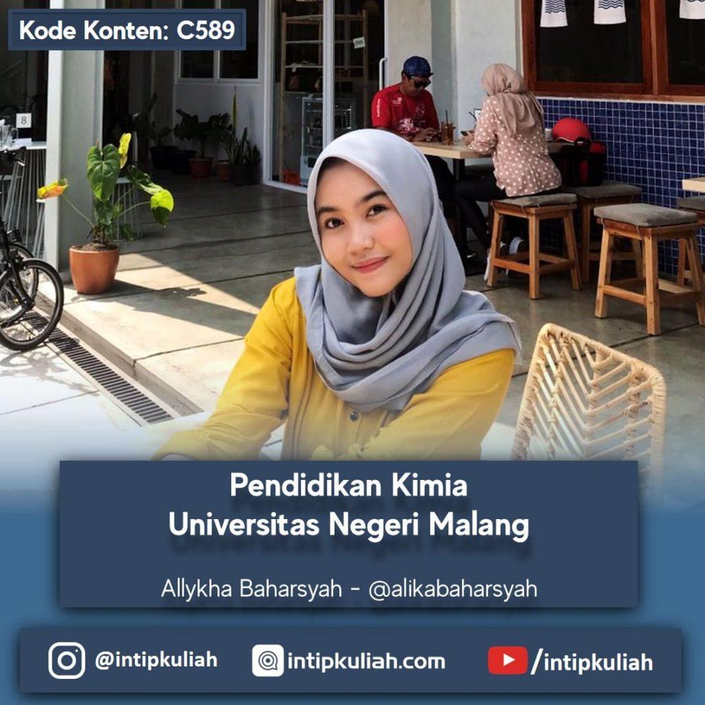 Pendidikan Kimia Universitas Negeri Malang (Allykha)