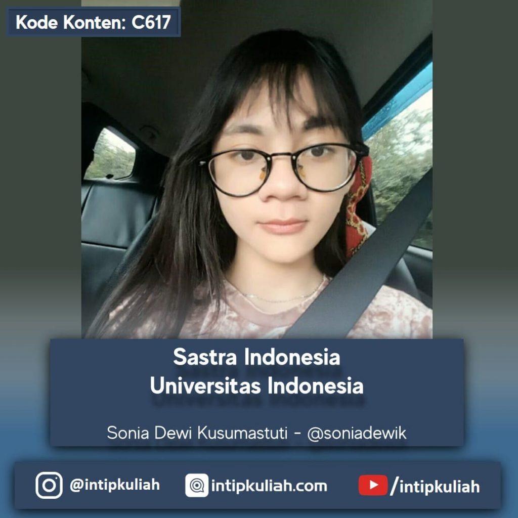 Sastra Indonesia UI (Sonia)