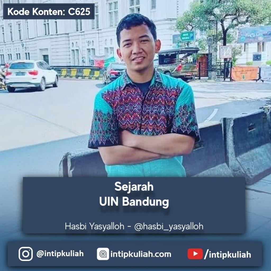 Sejarah UIN Bandung (Hasbi)