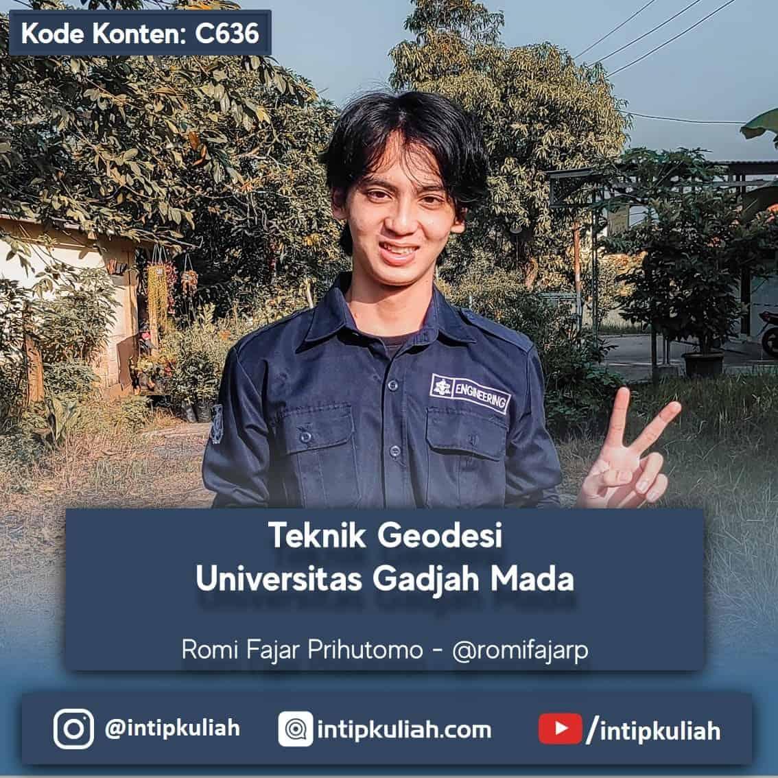 Teknik Geodesi UGM (Romi)