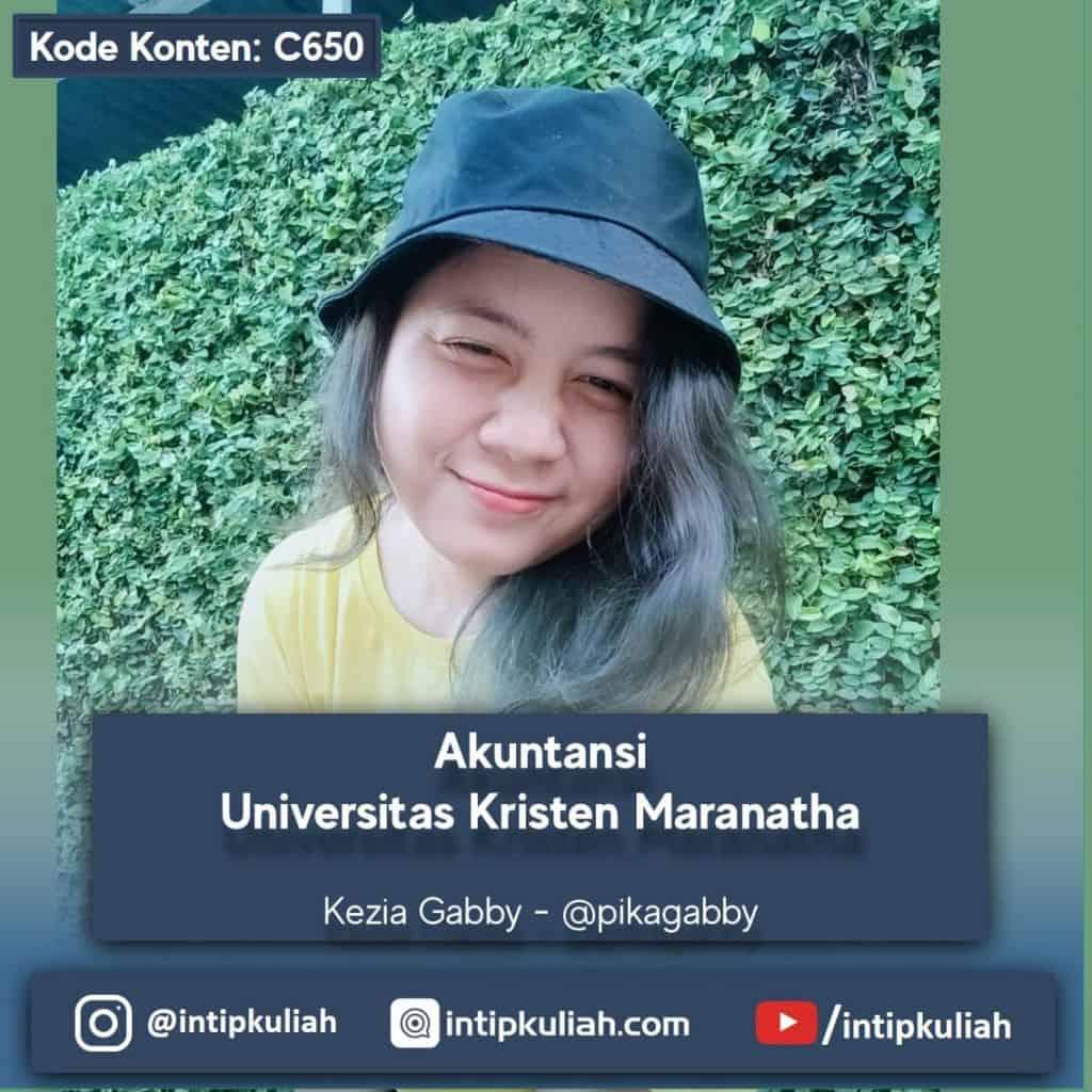 Akuntansi Universitas Kristen Maranatha (Kezia)