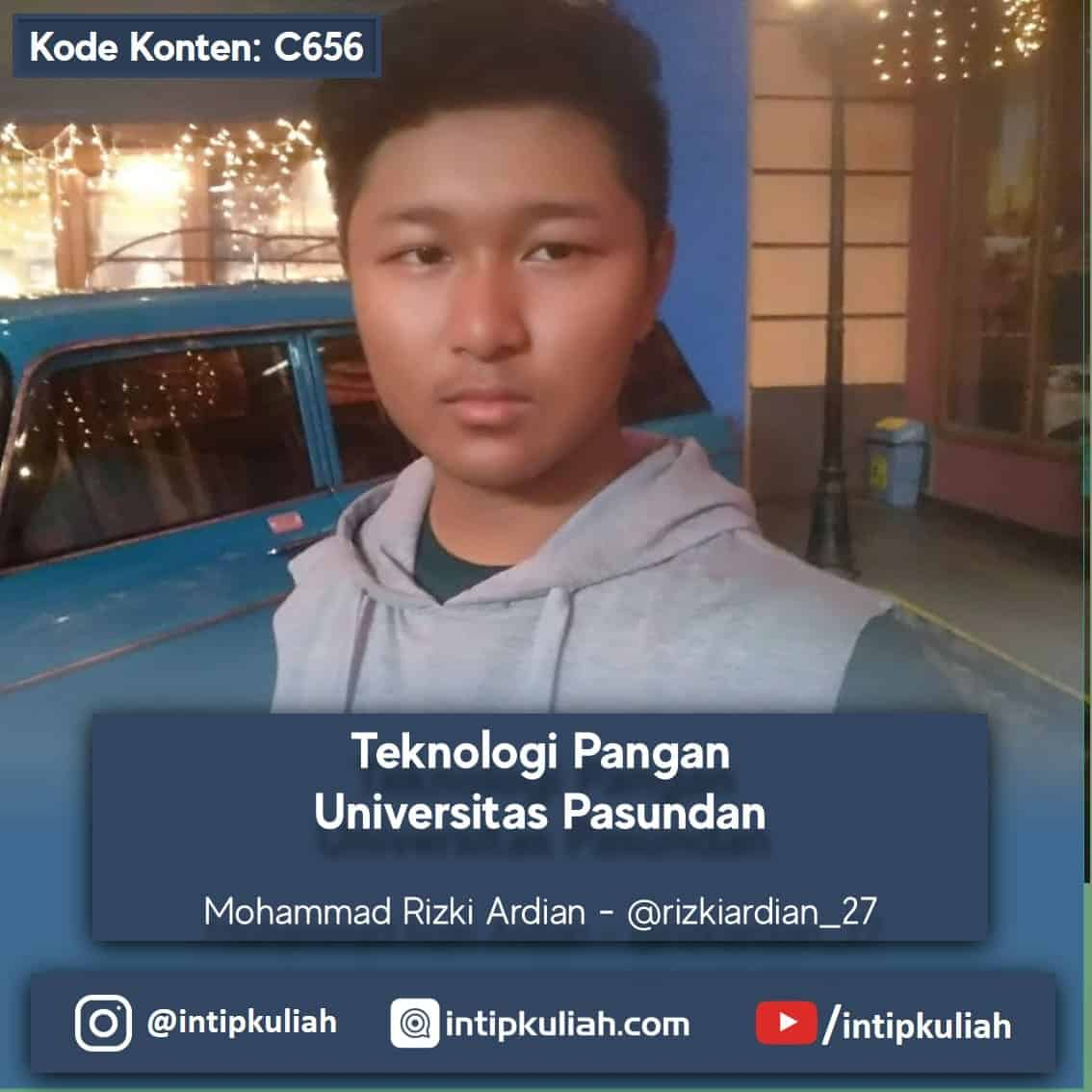 Teknologi Pangan Universitas Pasundan (Rizki)