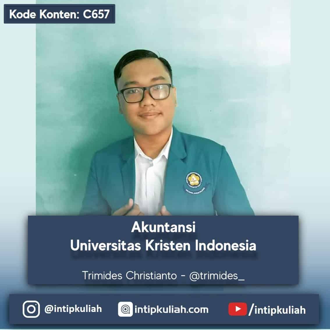 Akuntansi Universitas Kristen Indonesia (Trimides)